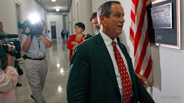 Joe Wilson endorses Pawlenty in South Carolina