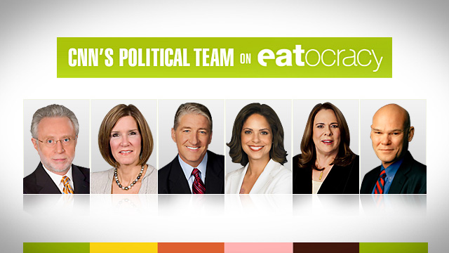 Candy Crowley's tofu fixation and other tasty tales from the campaign trail