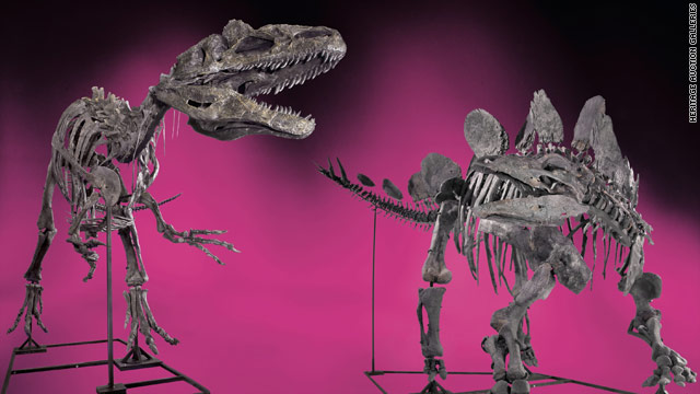 How about some fighting dinosaurs for $2.8 million?