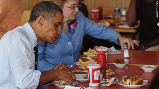 Obama&#039;s tout, auto bailout can&#039;t keep Ohio eatery cooking