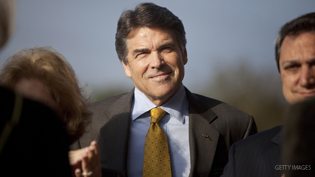 The eyes of more than Texas are on Rick Perry