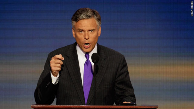 Huntsman hits Obama on economic record