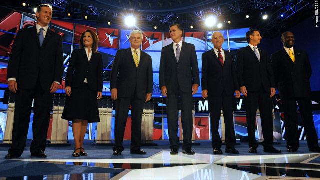 Live blog from the New Hampshire 2012 presidential debate