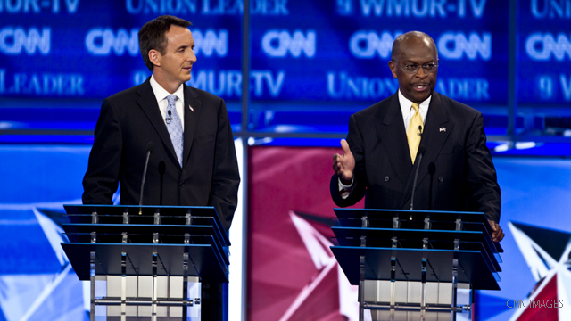 At debate, Republican candidates spar over Islam