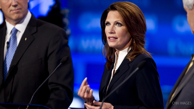Rep. Michele Bachmann makes presidential run official