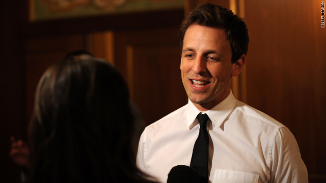 Seth Meyers can handle your SNL critiques