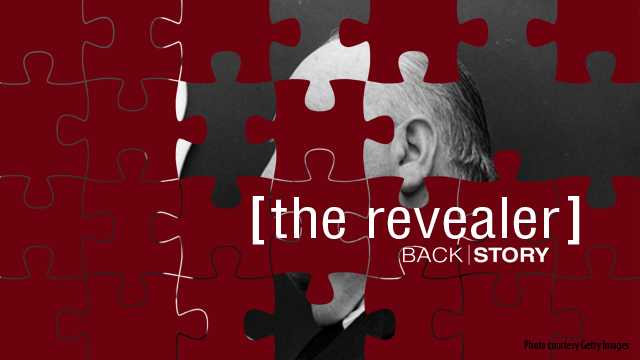 The Revealer is back! Your first clue...