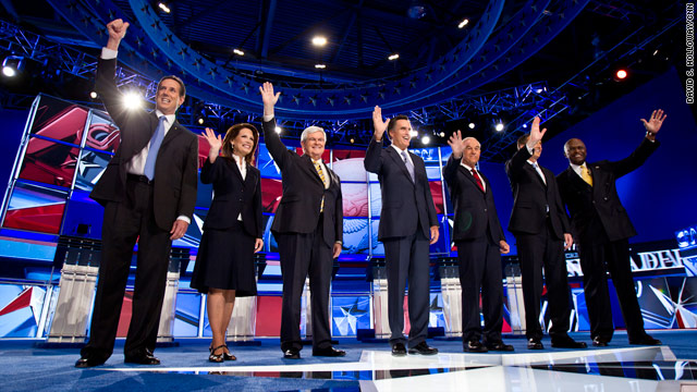 Video: The New Hampshire 2012 debate in full