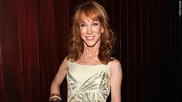 Kathy Griffin: Wait, did I sleep with JJ Abrams?