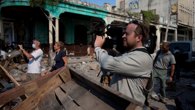 Food in the Field: AC360 photojournalist Neil Hallsworth