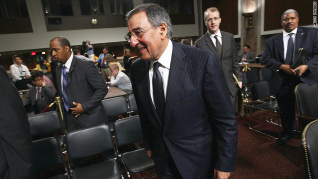 Senate panel endorses Panetta's nomination as defense secretary