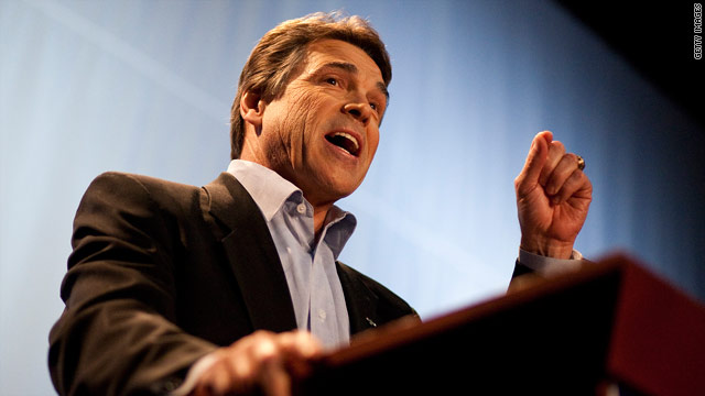 Perry rallies New York Republicans as he weighs presidential bid