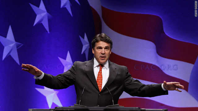 Perry hits New York amid talk of possible presidential run