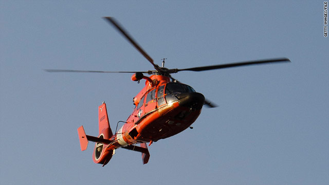 Distress call a hoax, Coast Guard says