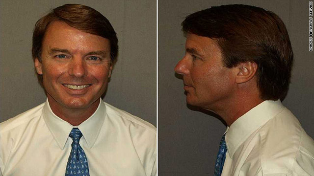 John Edwards&#039; mug shot released