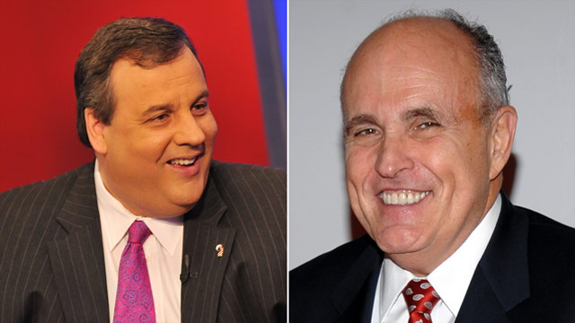 Giuliani to lunch with Christie Wednesday