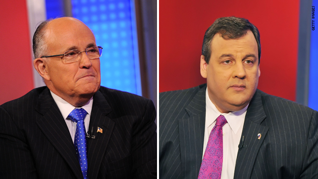 Giuliani lunches with Christie