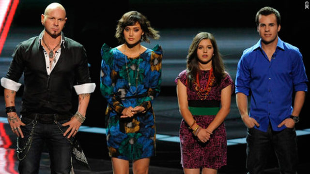 'The Voice' turns into an all girls club