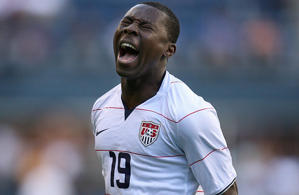 Freddy Adu was touted as the next big thing in United States soccer but has so far failed to break through.