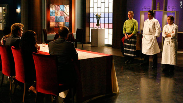 And the Season 3 'Top Chef Master' is...