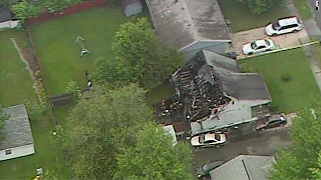 Six killed in Ohio house fire