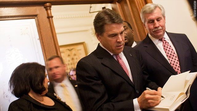 Perry not on major straw poll ballot
