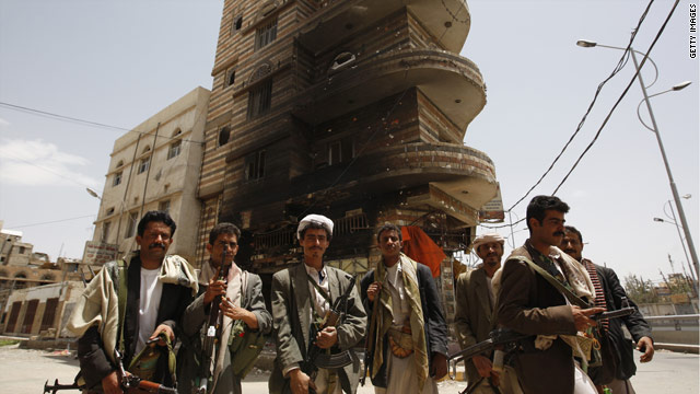 Yemen's battle of the sons