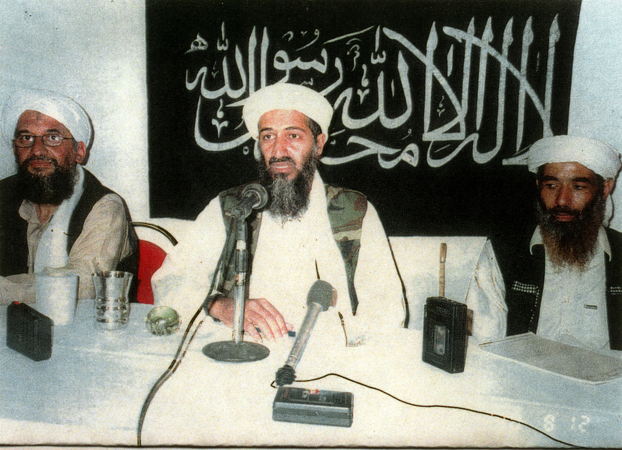 Charges against Bin Laden formally dropped