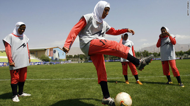 FIFA disqualifies Iranian women's soccer team for wearing hijab