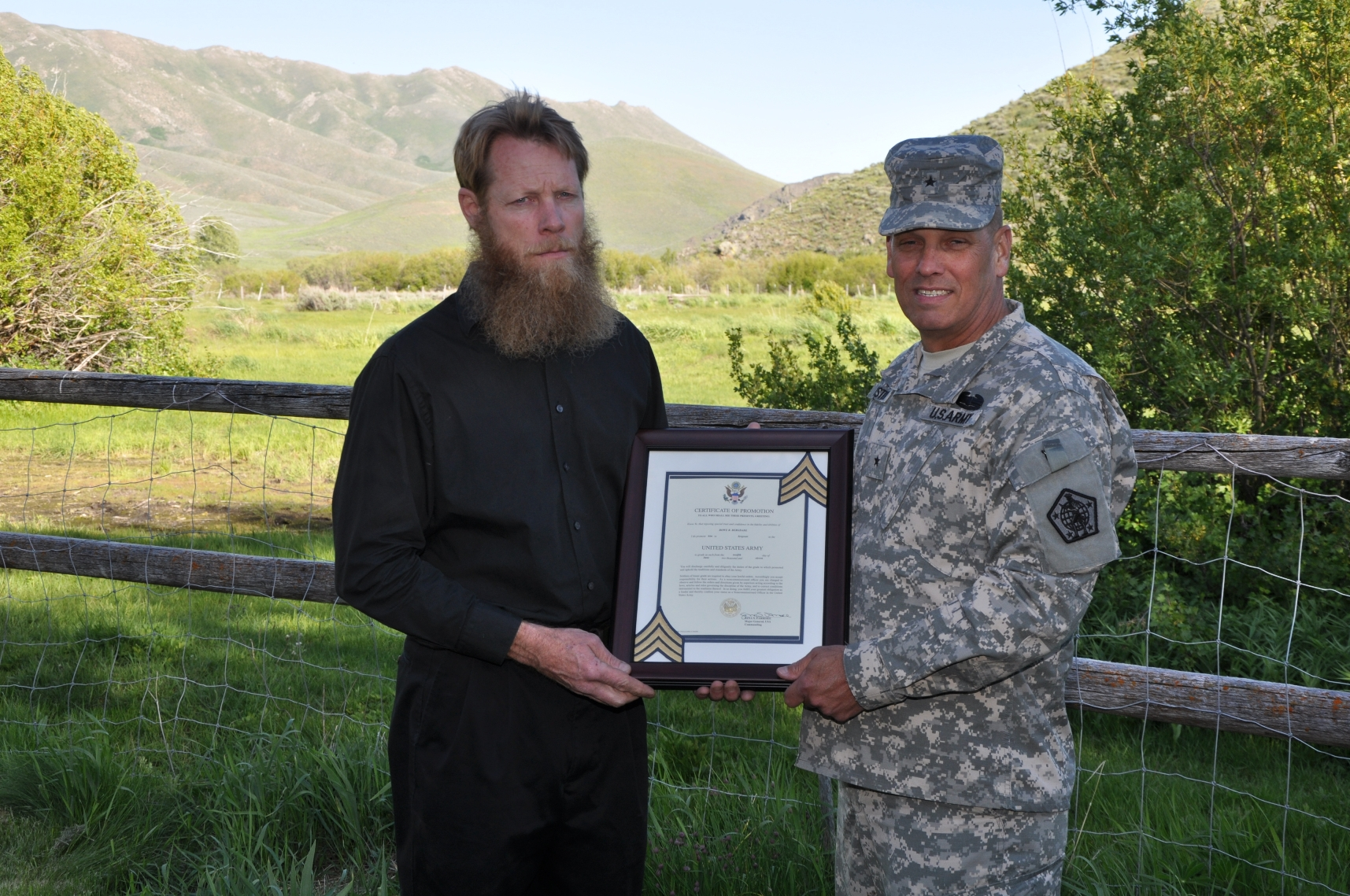 America's only captured soldier in Afghanistan gets promoted