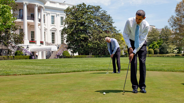 Obama readies for &#039;Golf Summit&#039;