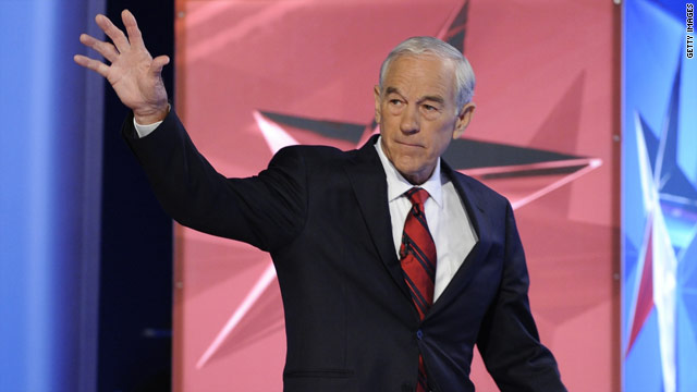 Ron Paul gives thanks for leaker