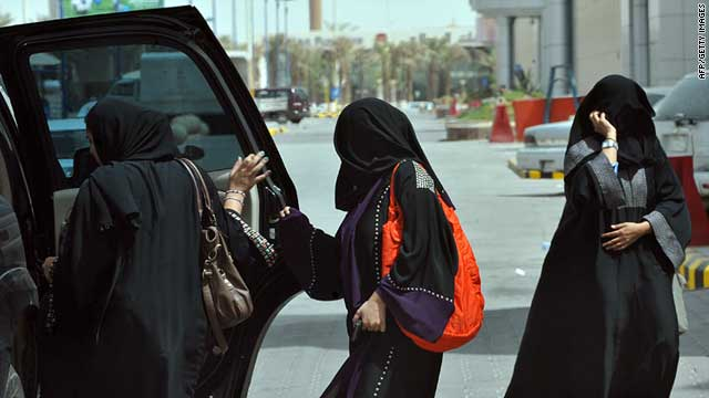 Saudi women get behind the wheel, challenge custom