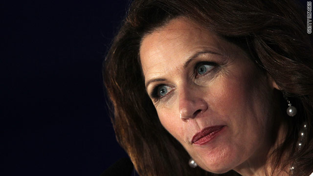 Bachmann excites RightOnline crowd, involved in glitter incident