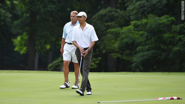 A bipartisan win on the links