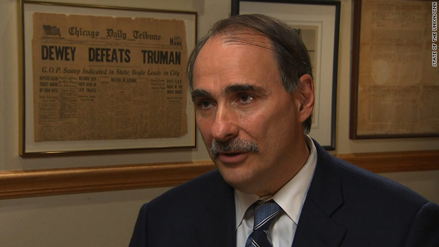 Axelrod 'surprised' by Jon Huntsman