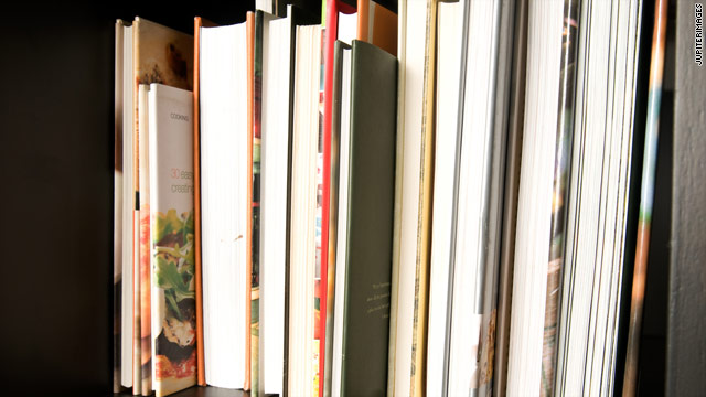 Make money from your cookbook shelf