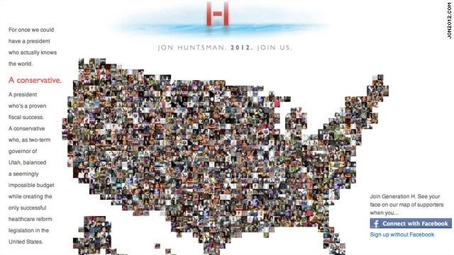 Huntsman website offers clues to campaign message