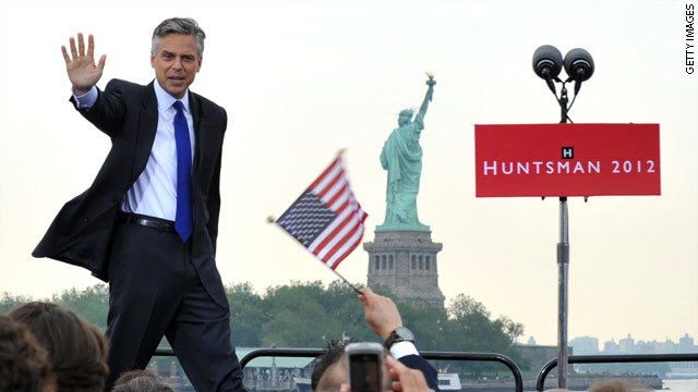 BLITZER'S BLOG: Huntsman calls for civility in presidential race