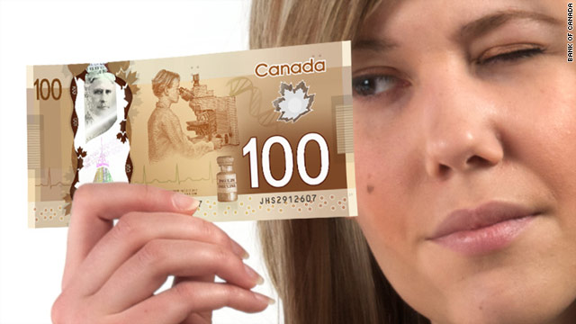 Canadian cash to do away with paper