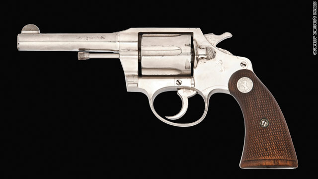 Christie's expecting six-figure bid for Al Capone's revolver