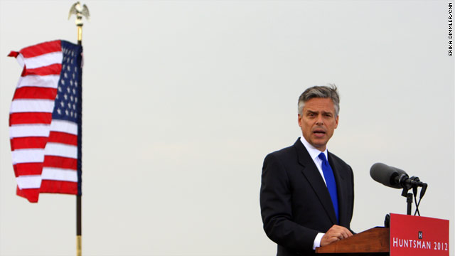 2012 Watch: Huntsman's shout out to Obama