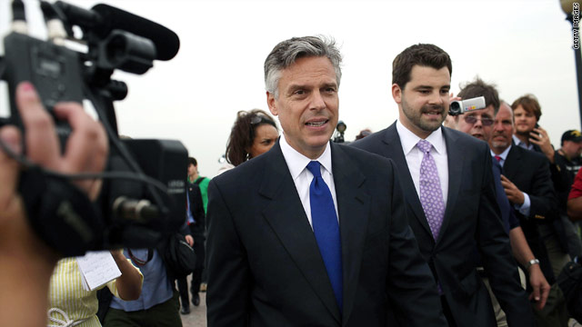 Campaign road trip–Huntsman's 2012 race begins