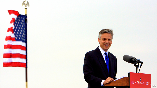 Huntsman announces presidential bid, warns of 'un-American' future