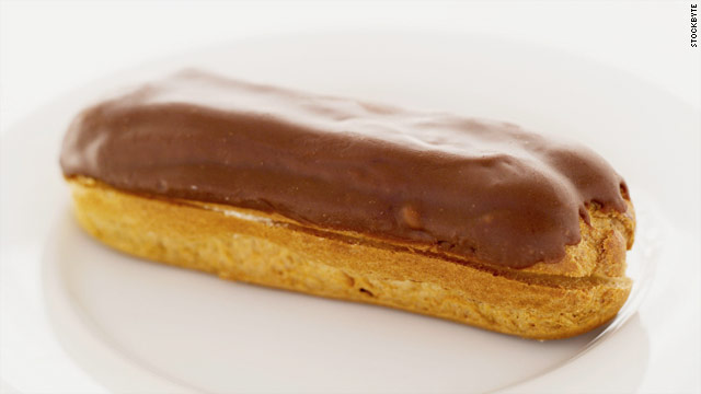 Breakfast buffet: National chocolate éclair day