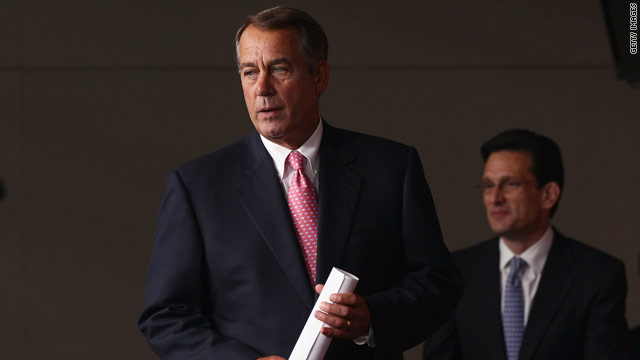 Boehner: House not with McCain on Libya campaign