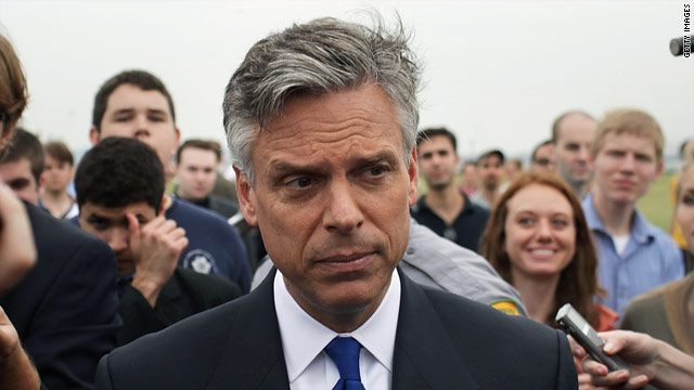 Huntsman distances himself from another Dem