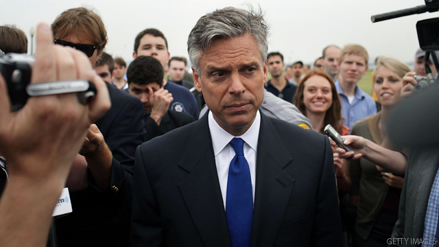 Huntsman calls for substantial Afghan troop reduction