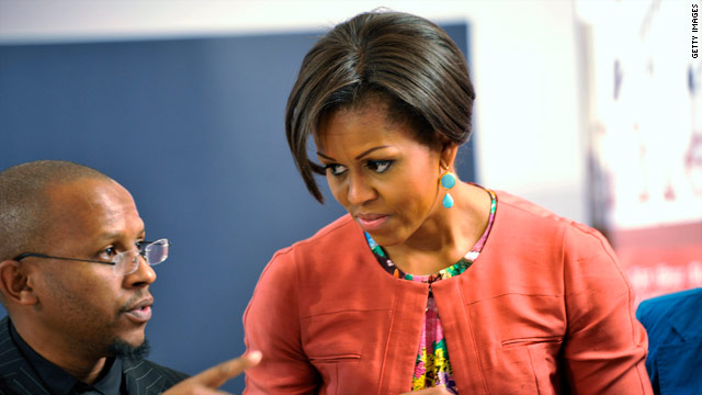 Michelle Obama brings Yes We Can to Africa