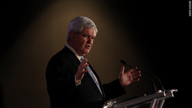 Ups and downs: Gingrich notes history's lessons